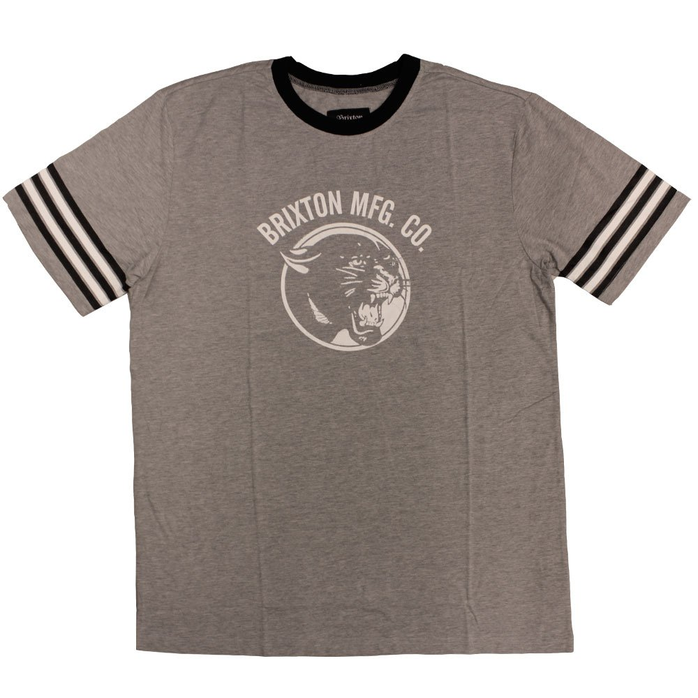 Brixton Freemont T-Shirt Heather Grey