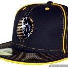 Dark n Cold Original Capman Fitted Baseball Cap Black Gold