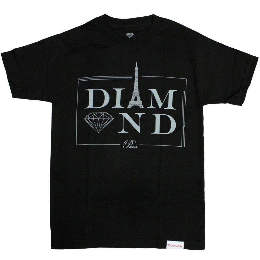 Diamond Supply Co Paris T-shirt Black