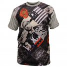 Crooks & Castles Textbook T-Shirt History Print Multi