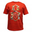 Rebel8 Logo Collage T-shirt Red