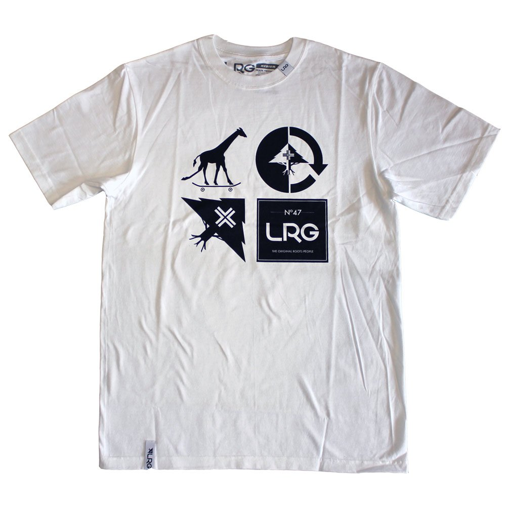 Lrg RC Logo Mash Up T-shirt White
