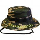 Crooks & Castles Martyr Boonie Bucket Hat Military Woodland Camo