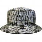 Lrg Bizmark Mens Reversible Bucket Hat Black