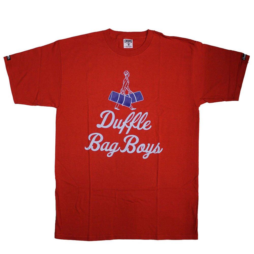 Crooks & Castles Duffle Bag Boys T-shirt True Red