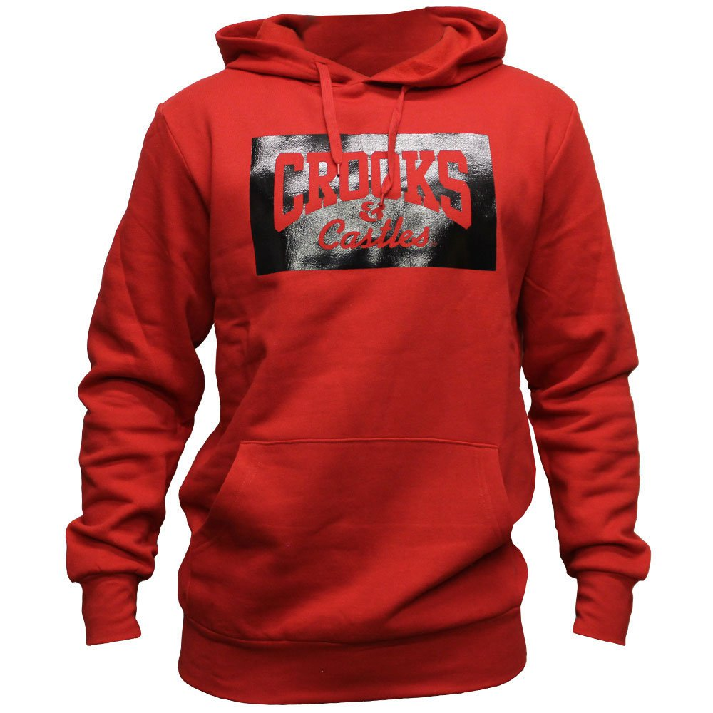 Crooks & Castles Represent Pullover Hoodie Red