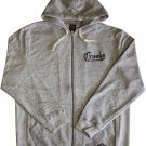 Crooks & Castles American Nightmare Zip Hoodie Speckle Grey