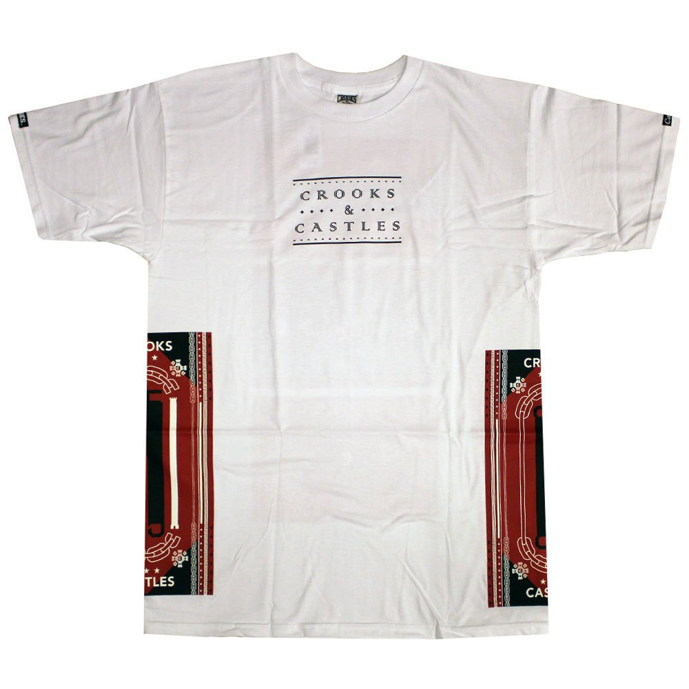 Crooks & Castles Ethnic Tech T-Shirt White