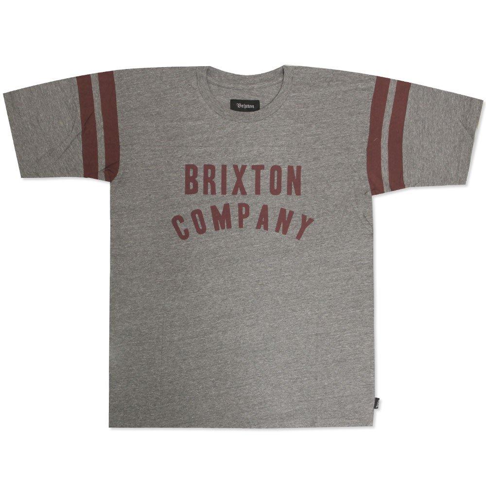 Brixton Barstow T-Shirt Heather Grey