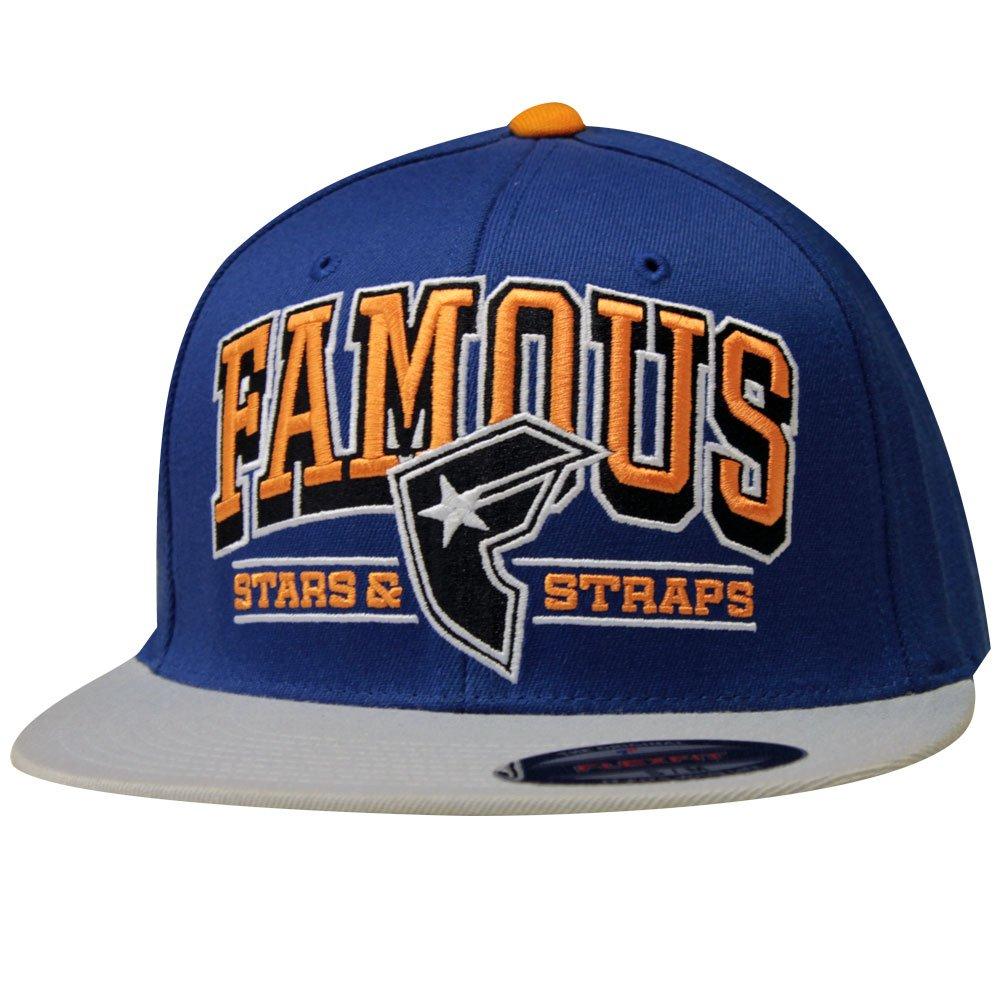 Famous Stars and Straps Reign Flex Fit Hat Royal