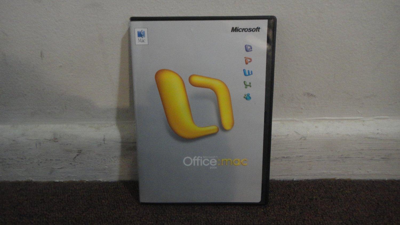Microsoft office 2004 for mac