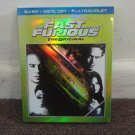 THE FAST and The FURIOUS: The Original,  BLU-RAY, Digital, Ultraviolet, PAUL WALKER. LOOK!!!