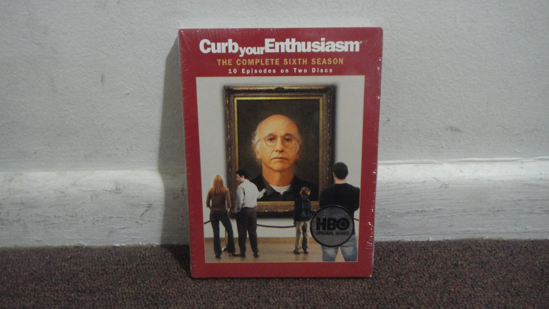 CURBYourEnthusiasm - DVD: The Complete Sixth Season, Season 6, Brand New, Sealed. LOOK!!!