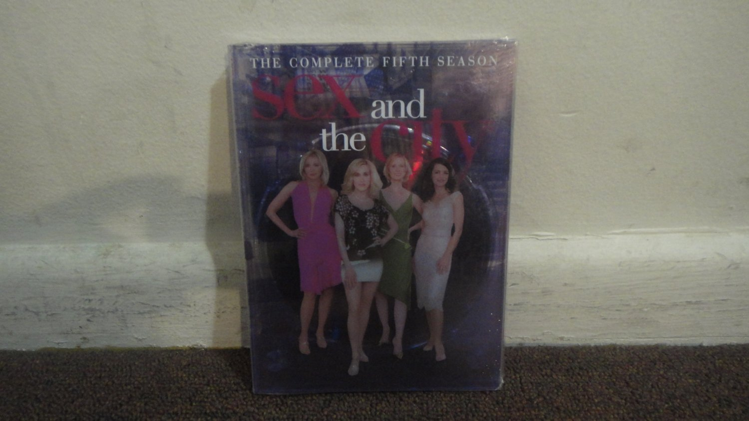 SEX and The CITY - DVD SET: The Complete Fifth Season, Season 5, Brand New, Sealed. LOOK!!!