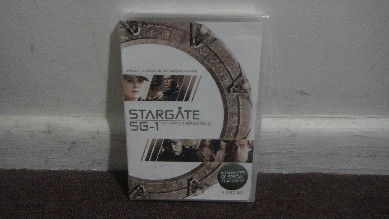STARGATE SG-1 - DVD SET: The Complete 2nd Season, Season 2, Brand New, Sealed. LOOK!!!