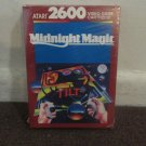 Midnight Magic - Atari 2600 Game in/with box....NICE Condition. LOOK!!