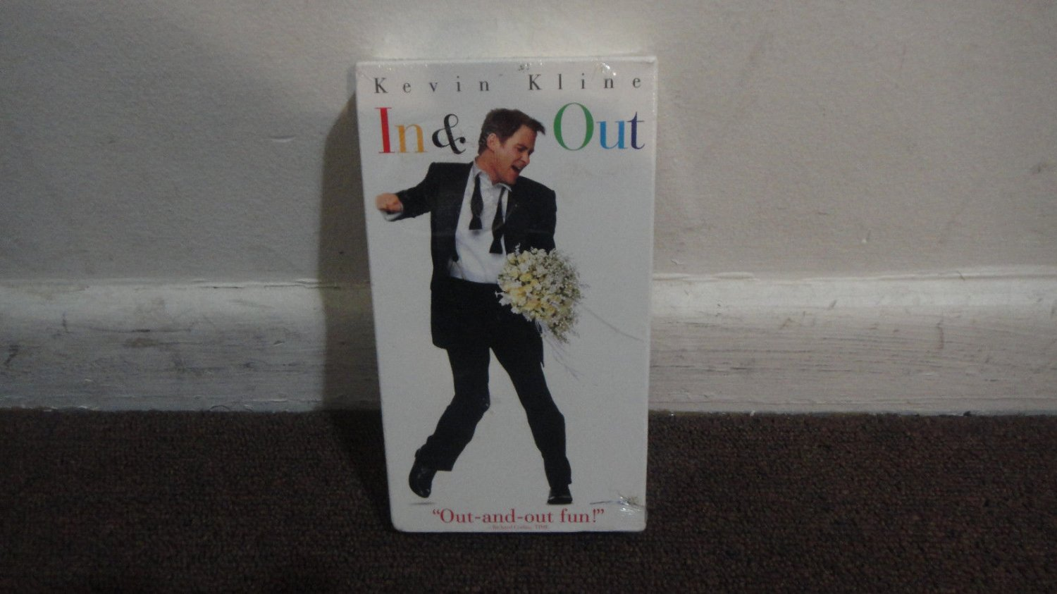 'In & Out' - Kevin Kline, Brand New VHS Tape.Sealed W/Original Paramount Seal.