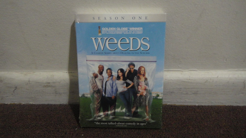 WEEDS Season 1 1st Season DVD Brand New & Sealed LOOK