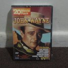 JOHN WAYNE 20 Movie Pack (DVD), New and Sealed!! Bonus Documentary incl. inside.
