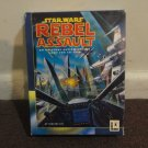 Star Wars Rebel Assault - VINTAGE & in the RARE Big Retail box, CD-Rom. LOOK!!!