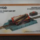 TYCO LOG DUMP CAR SET REMOTE CONTROL #926, NEW, SEALED. 1975. HO SCALE. LOOK!!!