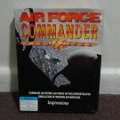 AIR FORCE COMMANDER PC WARGAME. *RARE* Big Box pc game, includes box! LOOK!