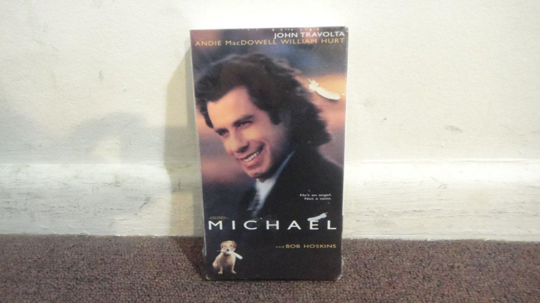 MICHAEL - John Travolta, New, sealed VHS tape. Original Factory seal. LOOK!!!