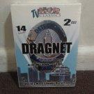 Dragnet 14 Episodes 2 DVD's World's Most Famous Detectives (DVD, Black & White)