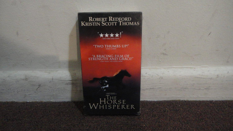The Horse Whisperer VHS NEW SEALED in Studio Seal Robert Redford Kristin Scott