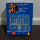 Where in the USA is CARMEN SANDIEGO? DELUXE EDITION - *RARE* BIG BOX MS-DOS GAME.