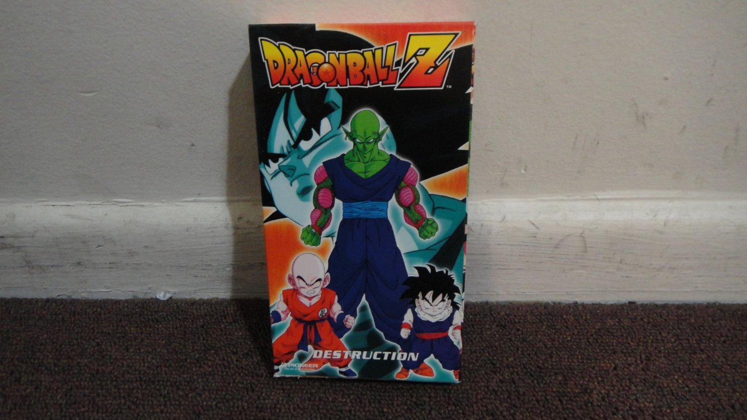 DRAGONBALL Z - DESTRUCTION. used VHS tape. Nice Condition. LOOK!!!
