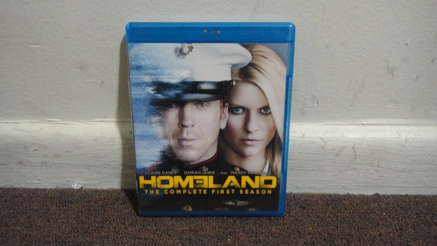 HOMELAND The Complete First Season Season 1 Blu Ray Missing Disk 3 LOOK