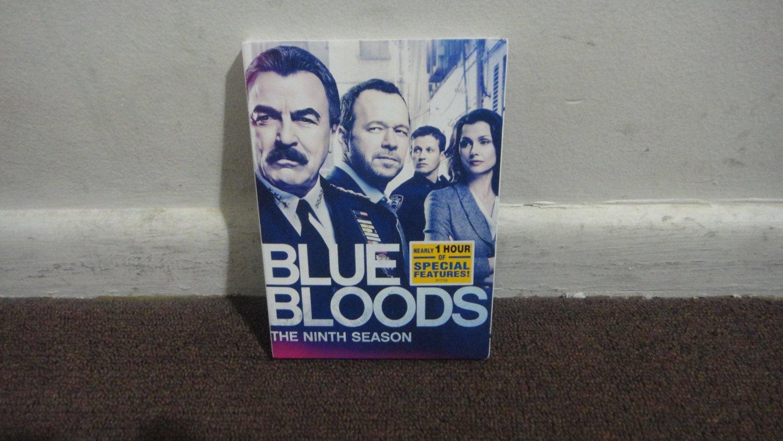 Blue Bloods - DVD The Ninth Season, Season 9, 5 disk set..USED, Nice..LooK!