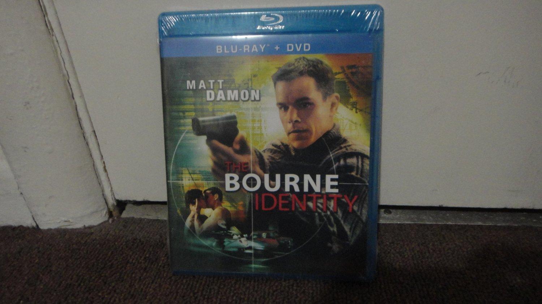 The Bourne Identity - Matt Damon Blu Ray & DVD on 1 Disc New and Sealed LooK