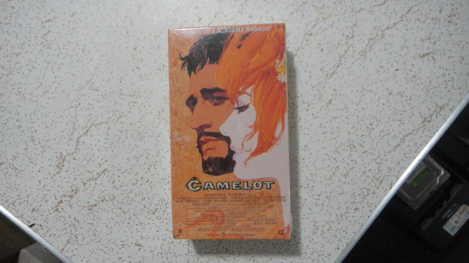 CAMELOT - VHS 2-tapes sealed and new!!! Richard Harris.