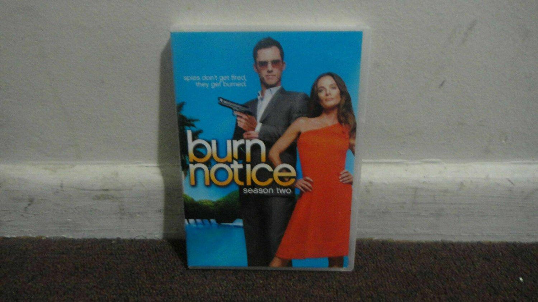BURN NOTICE - DVD SET: The Complete 2nd Season, Season 2, USED, Nice...LOOK!!!