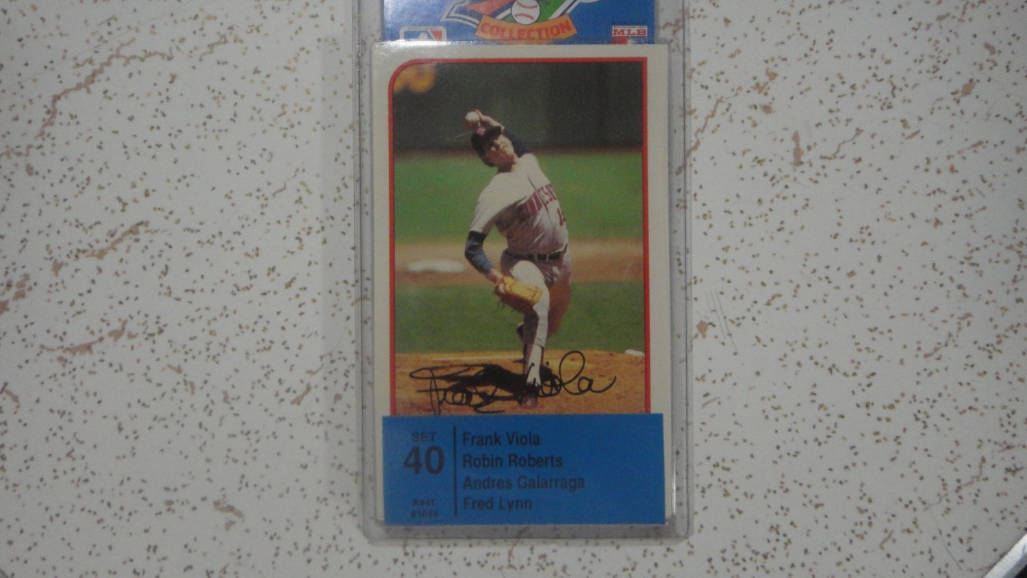 1989 Topps Baseball Talk Collection Soundcard Set #40, Brand New, Sealed. LooK!