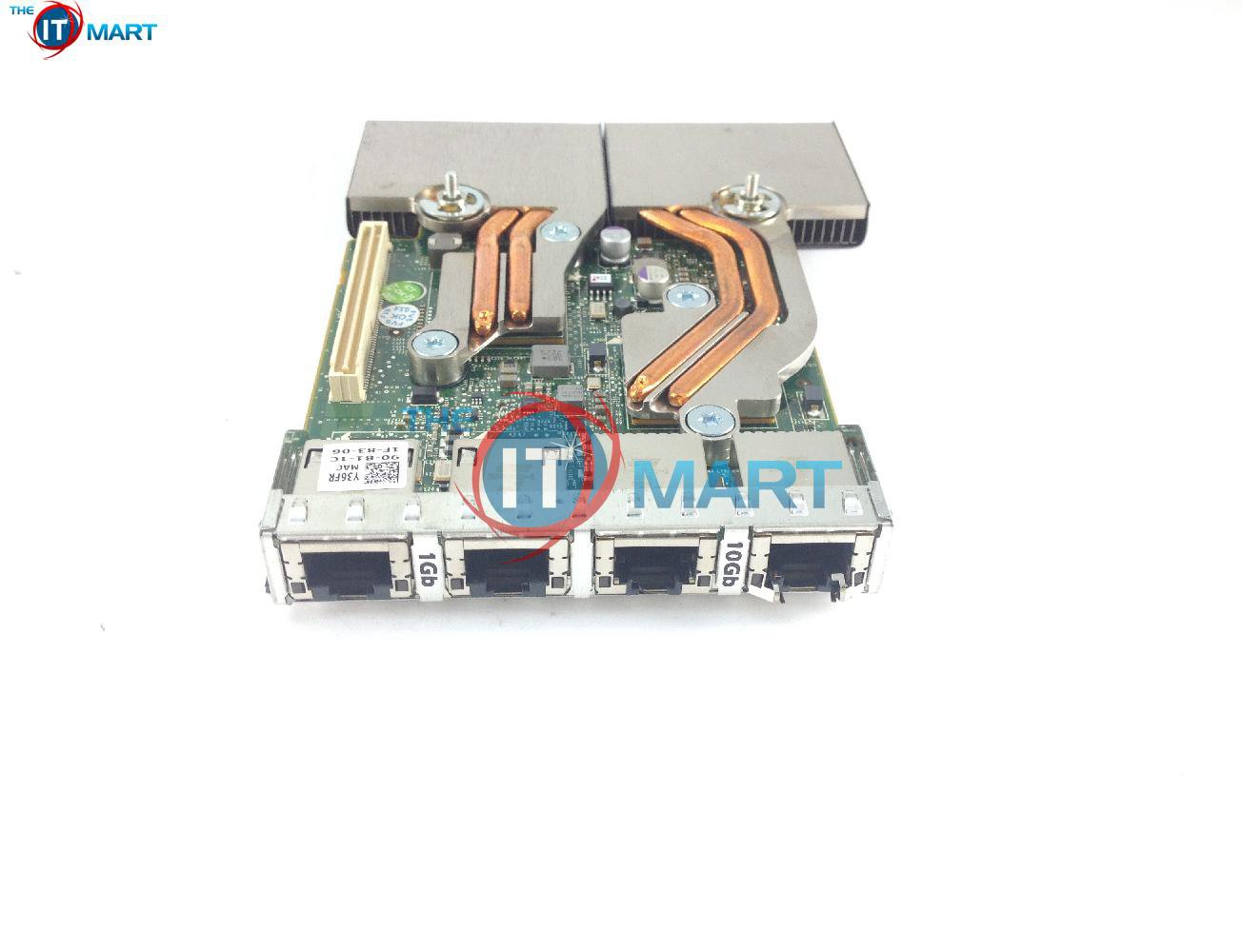 Dell Broadcom Y36FR 57800S Base-T BT 2+2P Daughter Card For R620 R720 R630 R730