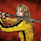 """Kill Bill - The Bride Art Print A2 (420x594mm/16x23"""")"""