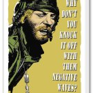 """Kelly's Heroes: Oddball Says - Mounted Canvas 22x34"""""""