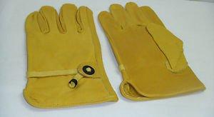 Horse Riding Motorbike Working Gloves Multi Purpose Yellow