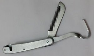Horse farrier tools Hoof pick care and grooming comb Equestrian