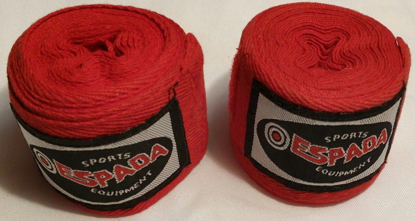 Boxing Hand Wraps MMA Bandages Thai Muay Wrist Bandage Cotton Pair