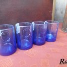 Ciroc Bottles Upcycled Shotglass Set of 4