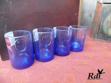 Ciroc Bottles Upcycled Shotglass Set of 4