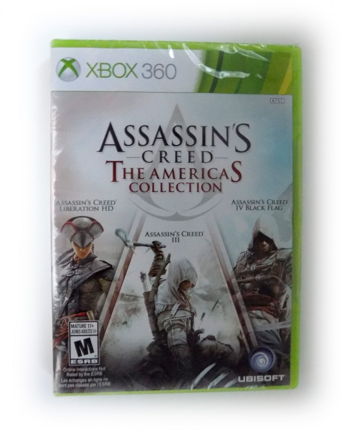 Assassin S Creed The Americas Collection Xbox 360 3 Game Discs