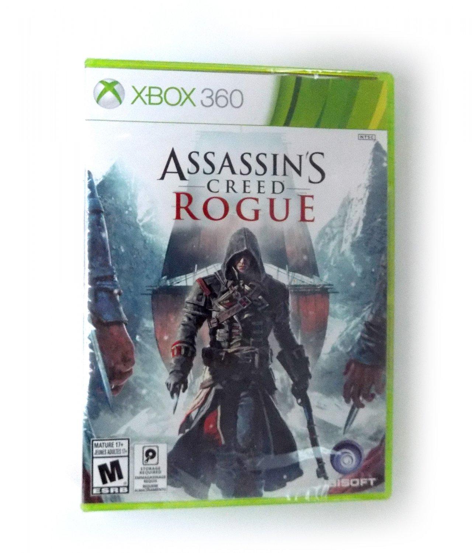Sealed Assassin's Creed: Rogue XBox 360 NTSC Brand New