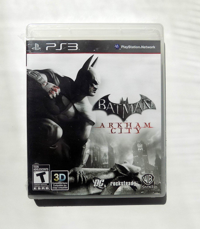 SEALED NEW Batman Arkham City PS3 Sony Playstation 3