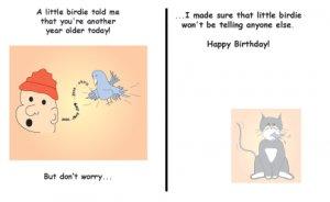 Greeting Cards Sarcastic Birthday Cards 002