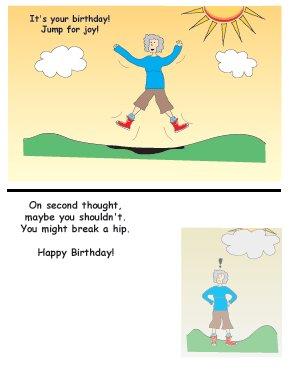 Greeting Cards Sarcastic Birthday Cards 003